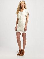 Nightcap Clothing Spanish Lace Flutter Dress