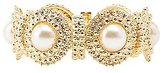 Charlotte Russe Pearl Bead Stretch Cuff Bracelet