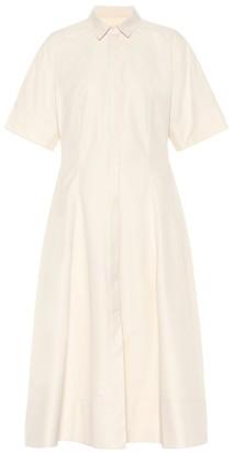 Jil Sander Cotton midi shirt dress