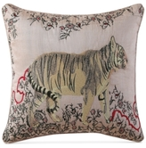 "Tracy Porter Fleur Embroidered Faux-Silk 16"" Square Decorative Pillow"