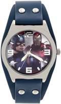 Marvel Boy's Quartz Plastic Casual Watch, Color: (Model: CAP3AQ16031)