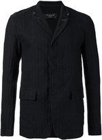 Transit - concealed fastening blazer - men - Cotton/Linen/Flax - S