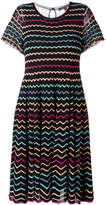 Marc Jacobs zigzag babydoll lace dress
