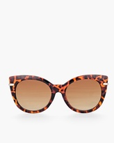 Chico's Glam Tortoiseshell Sunglasses