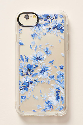 Casetify Indigo Floral iPhone Case By in Blue Size S