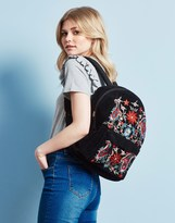 Pieces Embroidered Backpack