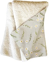 Deny Designs Iveta Abolina Daisy Meadow Fleece Throw Blanket