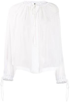 Tom Ford Sheer Blouse