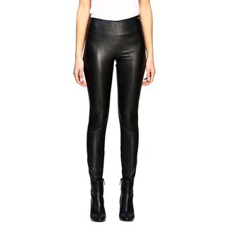 Armani Collezioni Armani Exchange Pants Armani Exchange Leggings In Synthetic Leather