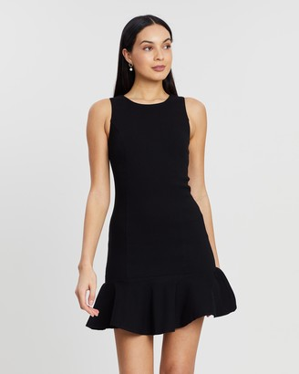 Atmos & Here Kitty Ruffle Hem Dress