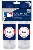 Baby Fanatic Atlanta Braves Baby Bottles - 2 Pack