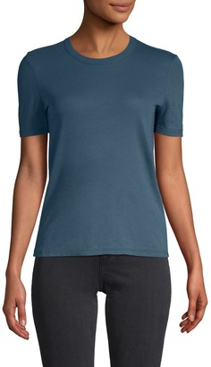RtA Short-Sleeve Cotton & Cashmere-Blend Tee