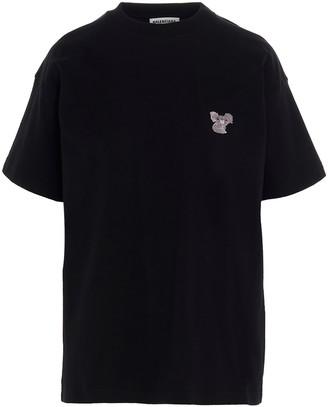 Balenciaga Koala Embroidered T-Shirt