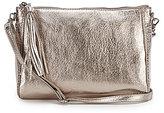 The Sak Pfieffer Tasseled Metallic Demi Cross-Body Bag