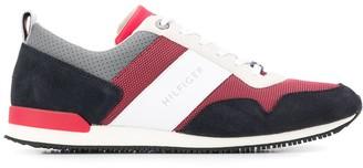 Tommy Hilfiger logo stripe sneakers