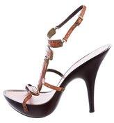Giuseppe Zanotti Slingback Platform Sandals