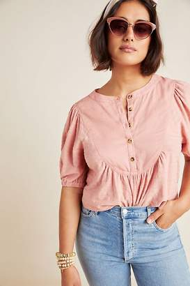 Anthropologie Elinor Textured Top