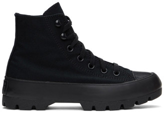 Converse Black Lugged Chuck Taylor All Star Sneakers