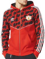 adidas Mens Machester United FC Slim Fit Hoody - M