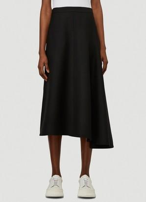 Jil Sander Asymmetric Skirt