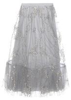 Valentino Embellished tulle skirt