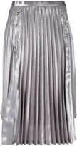 Comme des Garcons pleated skirt - women - Polyester/Cupro - S