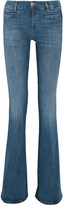 MiH Jeans Marrakesh Mid-rise Flared Jeans - Mid denim