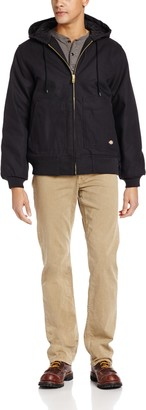 Dickies Men's Big and Tall Hooded Jacket