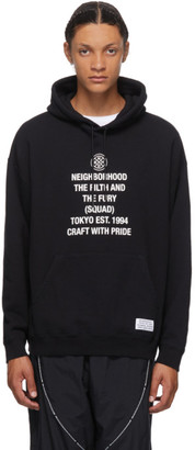 Neighborhood Black Tight Hoodie