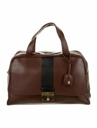 Marc Jacobs Leather Handle Bag Black