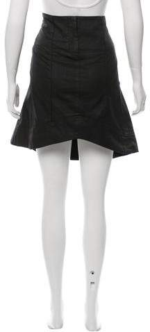 CNC Costume National Gathered Knee-Length Skirt
