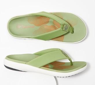 Spenco Orthotic Memory Foam Thong Sandals - Victoria