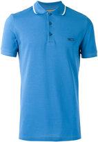 Burberry contrast detail polo shirt - men - Cotton - XS