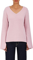 Andersson Bell Women's Rib-Knit Wool-Cashmere V-Neck Sweater