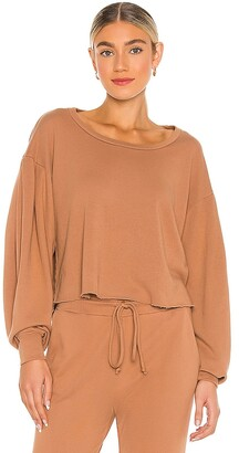 Lanston Porter Drape Sleeve Pullover