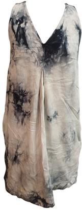 Gat Rimon Grey Cotton Dresses