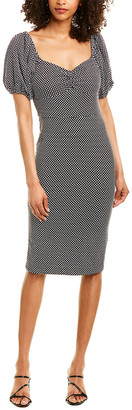 Betsey Johnson Mini Dot Sheath Dress