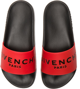 Givenchy Printed Rubber Slide Sandals