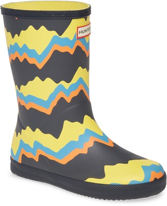 Hunter Classic Storm Stripe Waterproof Rain Boot