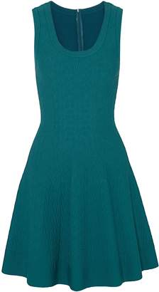 Alaia Jacquard-knit Mini Dress