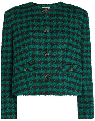 Sandro Short Tweed Jacket