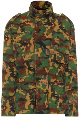 Off-White Camouflage cotton jacket