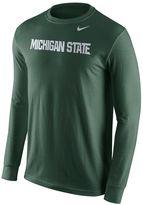Nike Men's Michigan State Spartans Wordmark Tee