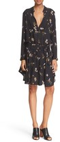 A.L.C. Women's 'Campbell' Floral Print Silk Dress