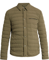 Vince Quilted-down nylon parka