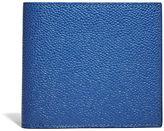 Thom Browne Men's Billfold Pebbled Leather Wallet In Blue