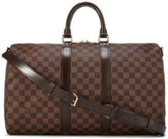 Louis Vuitton Damier Ebene Keepall Bandouliere 45