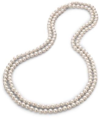 Majorica 8MM White Pearl Strand Necklace