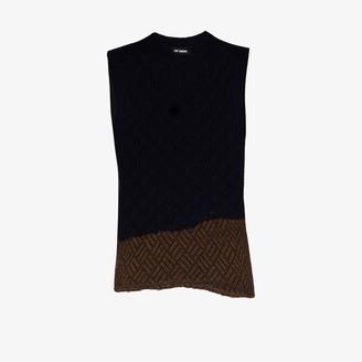 Raf Simons Merino Wool Sweater Vest