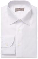 Canali Cotton Spread Collar Dress Shirt